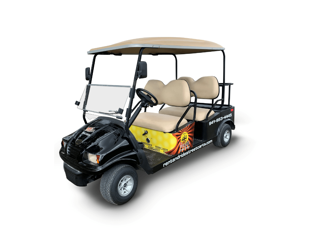 4 Passenger Golf Cart