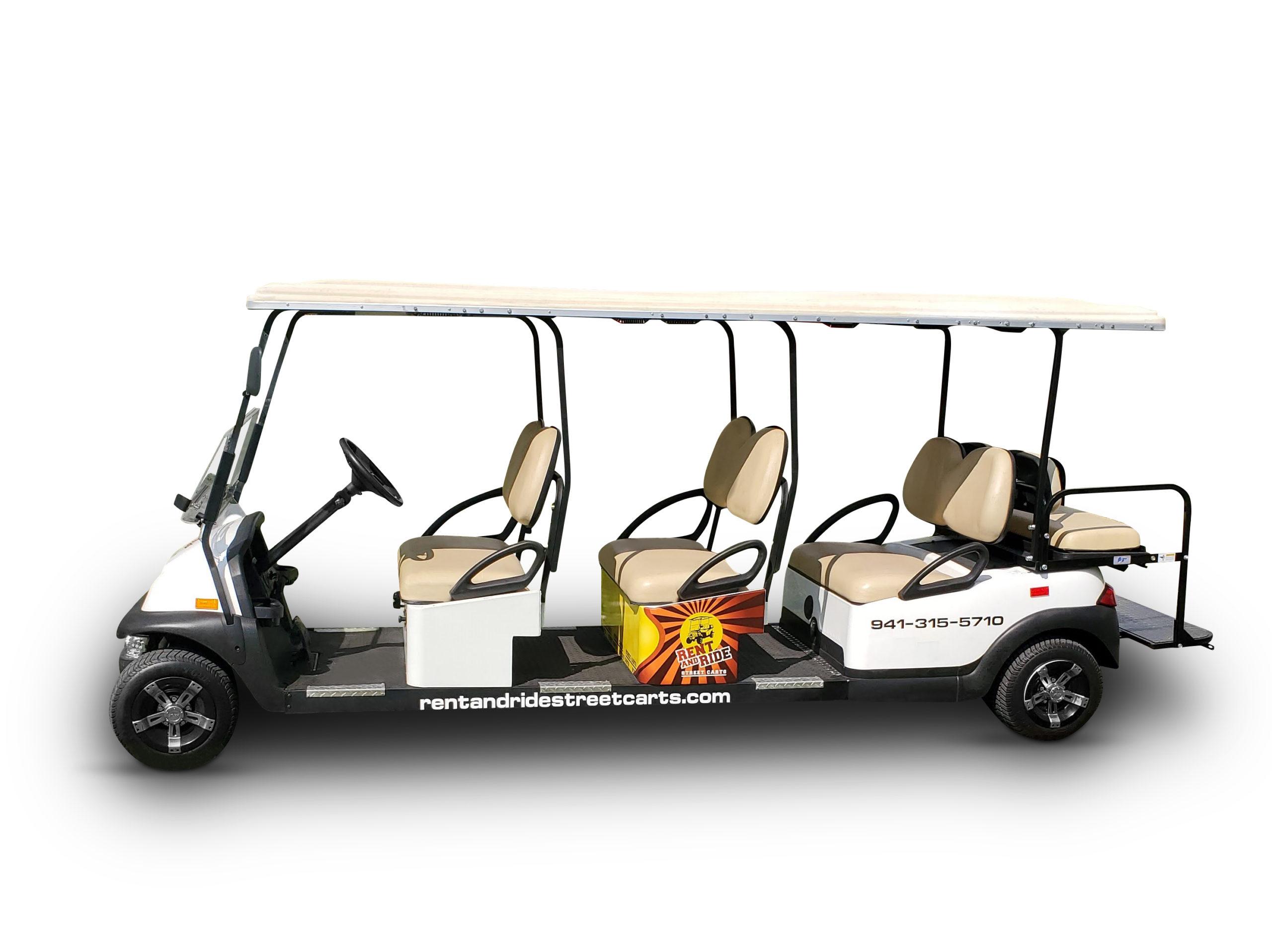 8 Passenger Golf Cart